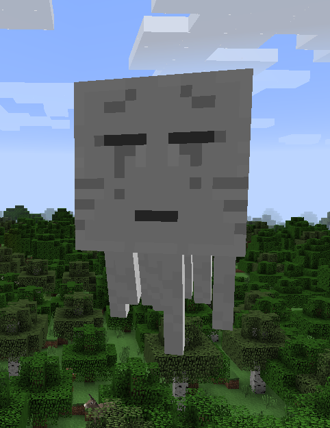 ghast � minecraft information