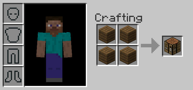 Make Crafting Table