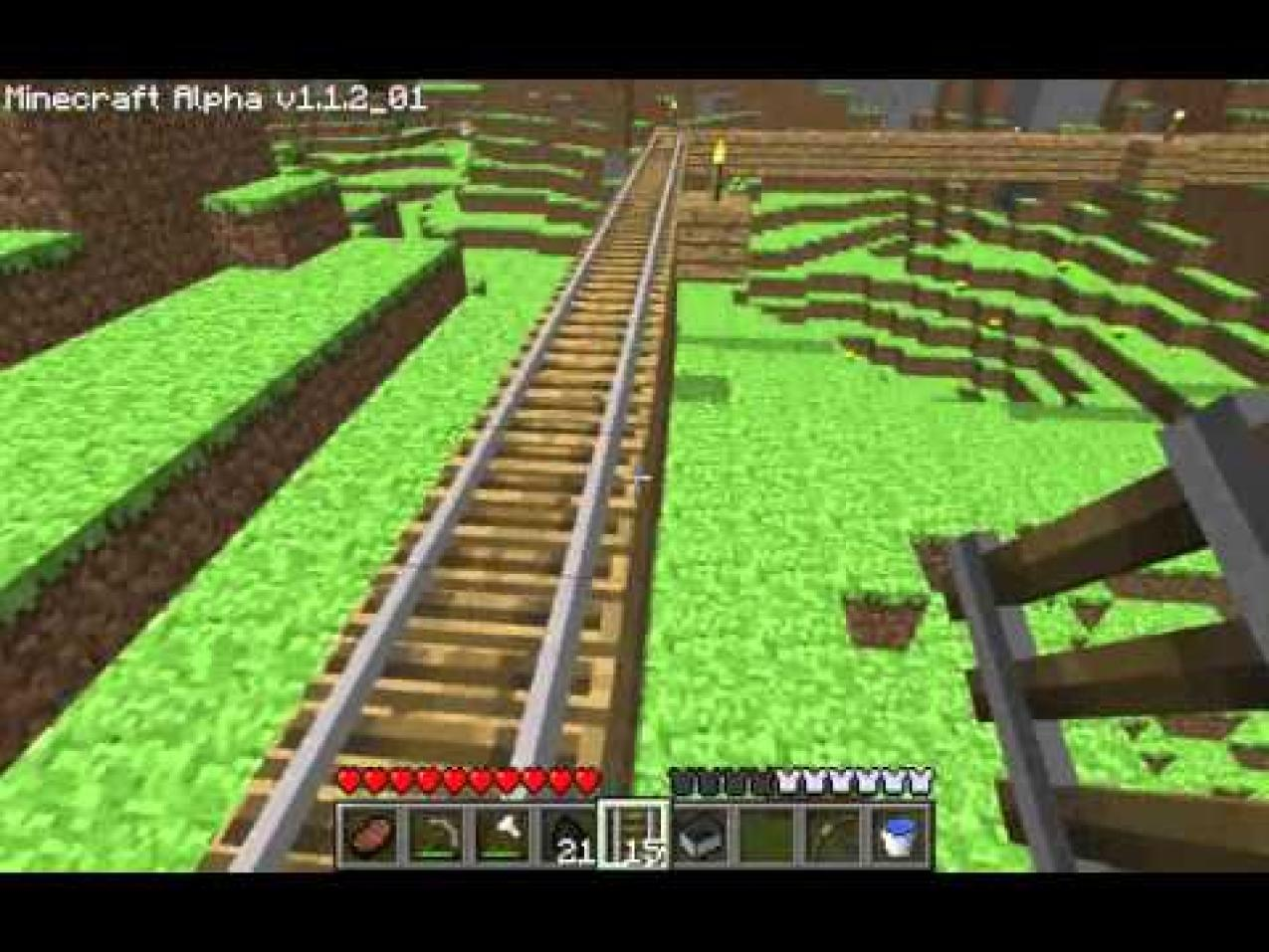Minecraft How to Build a Track - Minecraft Information - photo#18